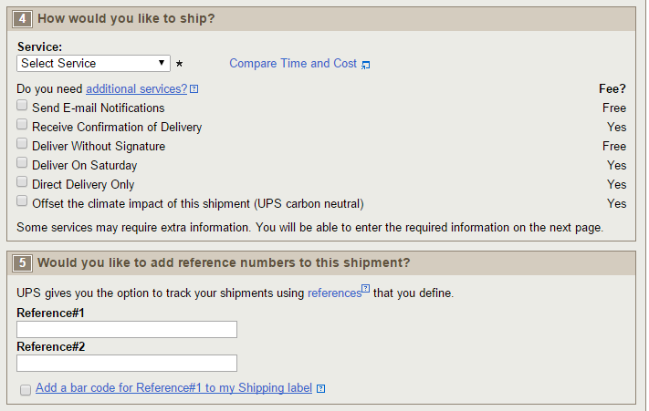 ups shipping, ups shipping calculator, ups shipping rates