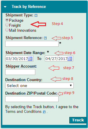 UPS tracking, UPS tracking number
