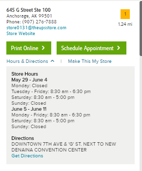 UPS Hours- How to find Store Open, Close and Delivery