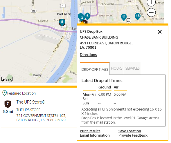 How To Use Ups Locator To Find Locations Near Me Ups Tracking