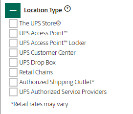 ups near me, ups locations