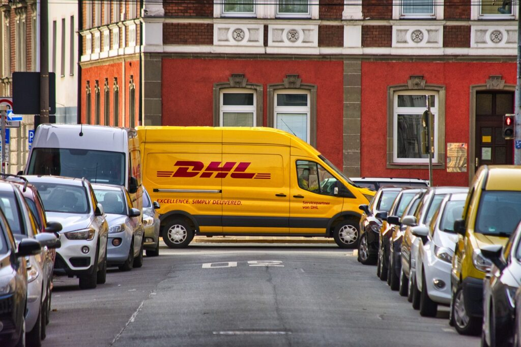 DHL deliver