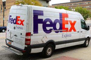 fedex scheduled delivery